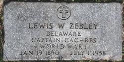 Lewis W. Zebley