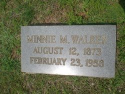 Minnie <I>Montgomery</I> Walker