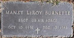 Manzy LeRoy Burnette