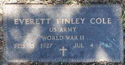 Everett Finley Cole