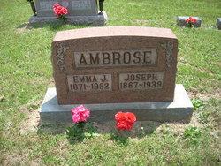 Emma J. <I>McGlothlin</I> Ambrose