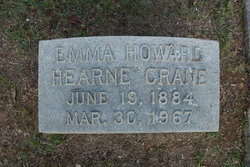 Emma Howard <I>Hearne</I> Crane