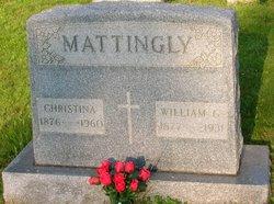 Christina <I>McGettigan</I> Mattingly