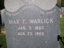 Maxwell Franklin Warlick