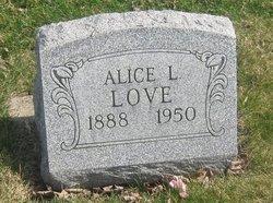 Alice L Love