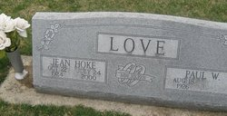 Jean <I>Hoke</I> Love