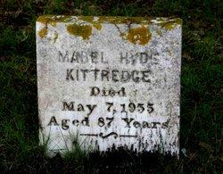Mabel <I>Hyde</I> Kittredge