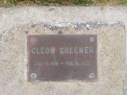 Cleon Robert Greener