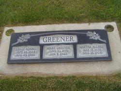Martha Catherine <I>Allred</I> Greener