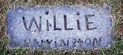 """William """"Willie"""" Harrington"""