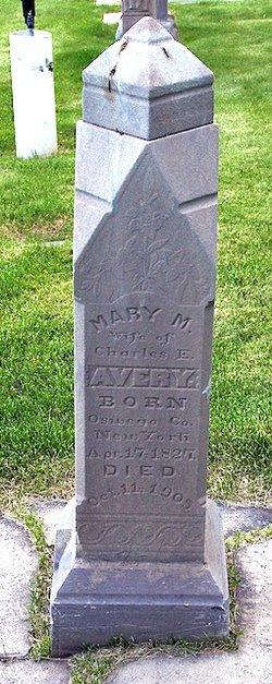 Mary Miranda <I>Harrington</I> Avery