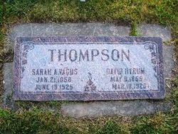 Sarah Ann Vagus <I>Gale</I> Thompson