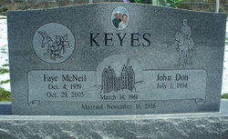 Faye M. <I>McNeil</I> Keyes
