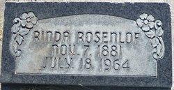 "Martha Lorinda ""Rinda"" Rosenlof"