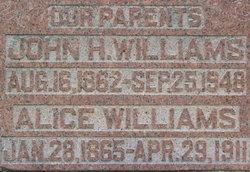 Alice <I>Ransdell</I> Williams