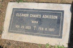 """Eleanor """"Nora"""" <I>Chaves</I> Adkisson"""