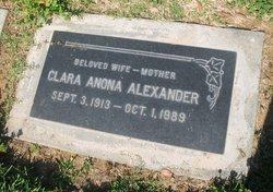 Clara Anona <I>McEvers</I> Alexander