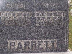 Letitia <I>Newlin</I> Barrett