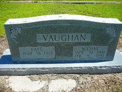 "George Washington ""Washie"" Vaughan"