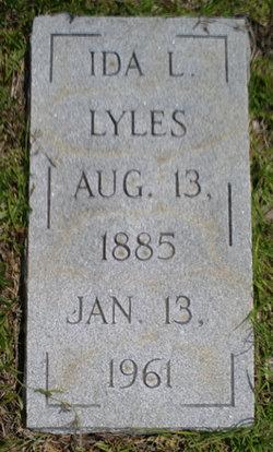 Ida Isabell <I>Lucas</I> Lyles