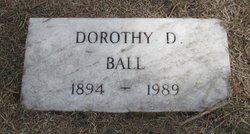 Dorothy <I>Dickinson</I> Ball