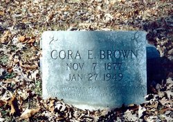 Cora Ellen <I>Brooks</I> Brown
