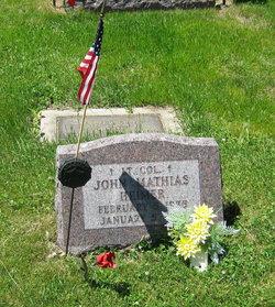 Col John Mathias Heimer, Jr
