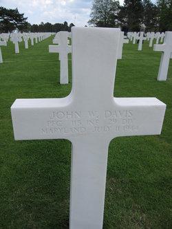 PFC John W Davis