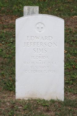 Edward Jefferson Sims
