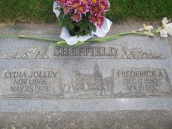 Lydia B. <I>Jolley</I> Sheffield