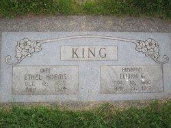 Ethel Annette <I>Adams</I> King