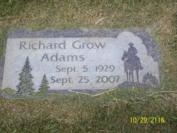"Richard Grow ""Dick"" Adams"