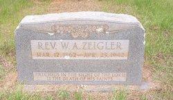 Rev William Abram Zeigler