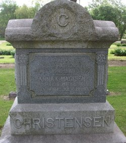 Anna Kristina <I>Madisen</I> Christensen