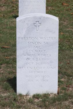Preston Walter Sinon, Sr