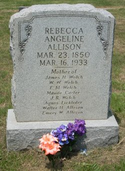 Rebecca Angeline Allison