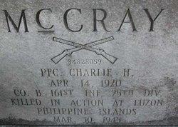 Charlie Hugh McCray