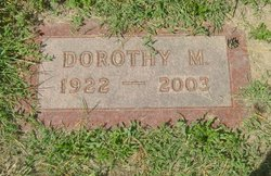 "Dorothy Mildred ""Dot"" <I>Burk</I> Brandenburg"