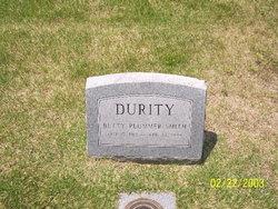 Betty Plummer <I>Smith</I> Durity
