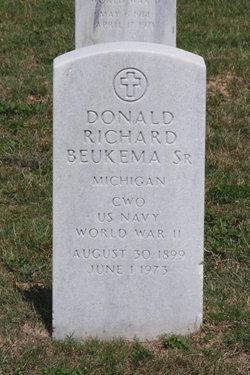 Donald Richard Beukema, Sr