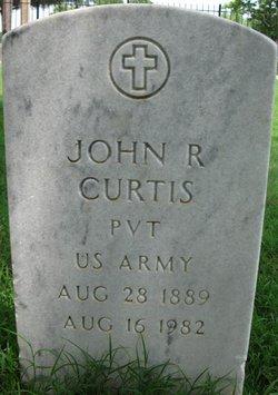 John R Curtis