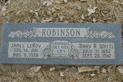 Mary Rebecca <I>Watts</I> Robinson