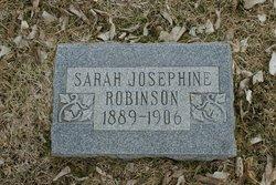 Sarah Josephine Robinson