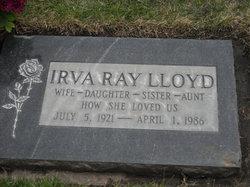 Irva Luella <I>Ray</I> Lloyd