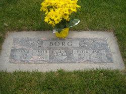Emma E <I>Smith</I> Borg