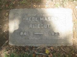 Phebe Mason <I>Abbott</I> Rideout