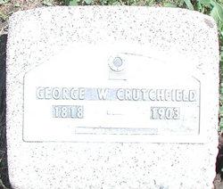 George Washington Crutchfield, Sr