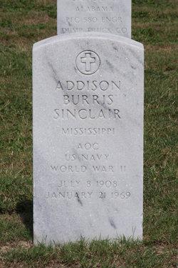 Addison Burris Sinclair