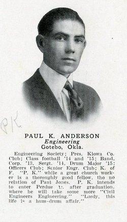 Paul Kenneth Anderson