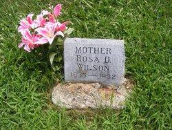 """Rosa D. """"Rosie"""" <I>Clark</I> Wilson"""